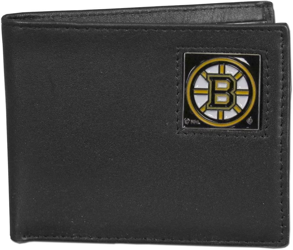 Siskiyou NHL Genuine Leather Bi-Fold Wallet