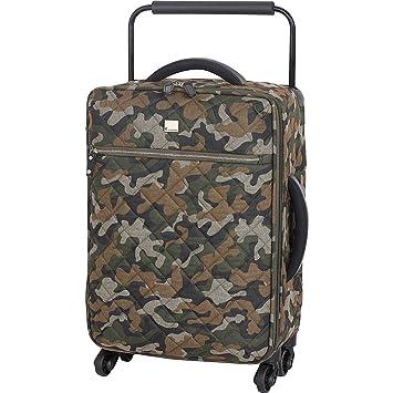 Juego de 4 maletas ligeras y acolchadas de 4 ruedas, diseño de camuflaje, de IT Luggage, camuflaje (Verde) - 22-1622-04UMX18-P647: Amazon.es: Equipaje