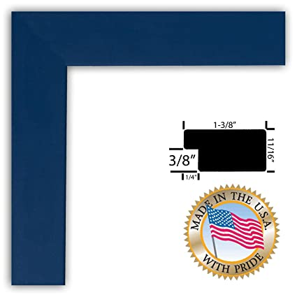 Amazon Arttoframes 18x24 Picture Frame 1375 Blue Stain On