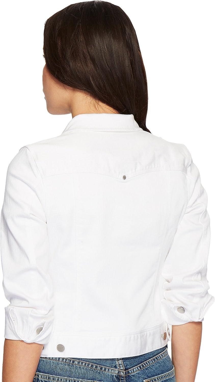 f23d4cd8bb276 Liverpool Jeans Company Women s Petite Classic Denim Jacket in Slub Stretch  Twill at Amazon Women s Coats Shop