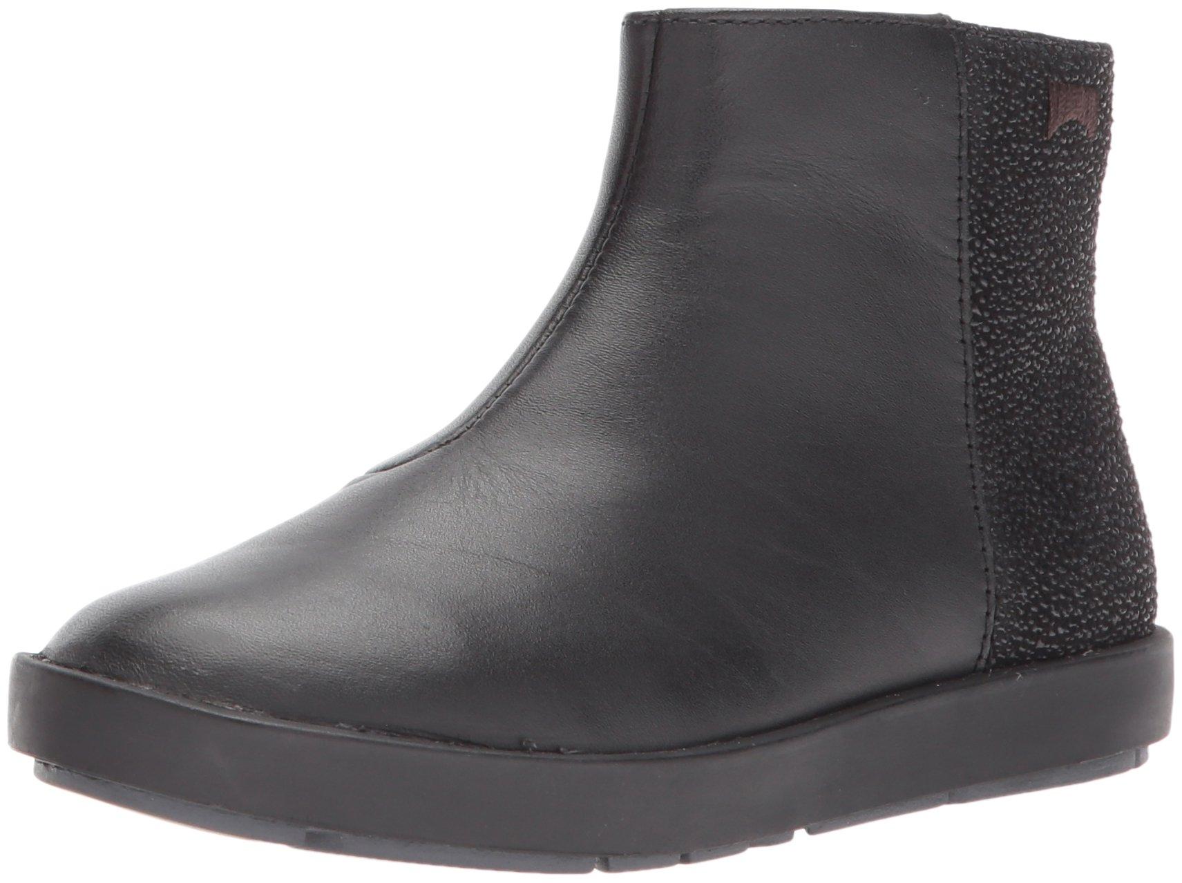 Camper Kids Girls' Leonor Ankle Boot, Black, 36 D EU Big Kid (4 US)