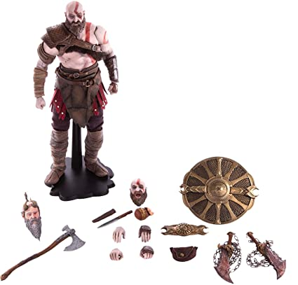 Amazon Com Mondo Tees God Of War Kratos 1 6 Scale Deluxe