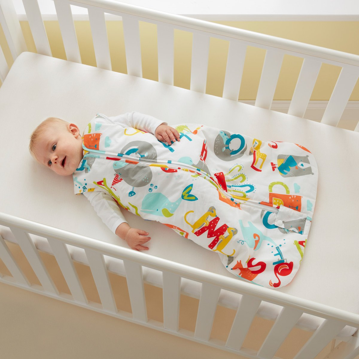 Grobag Travel Baby Sleeping Bag - E is for Elephant 2.5 Tog (18-36 Months) by grobag (Image #7)