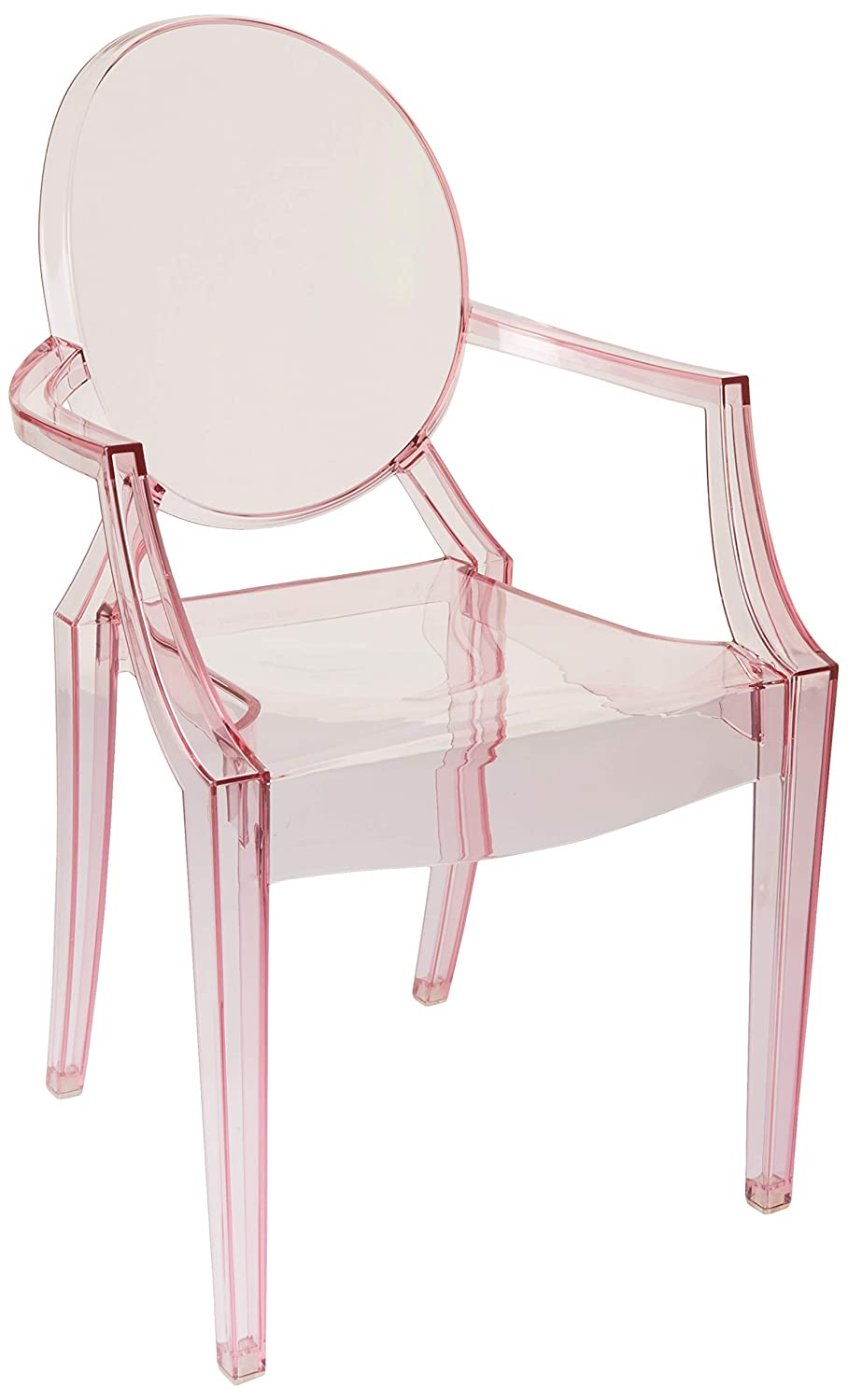 Kartell Loulou Ghost Chairs, Blue 02853Y5