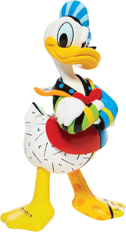 Enesco Disney by Romero Britto Donald Duck Figurine, 7.3 Inch, Multicolor