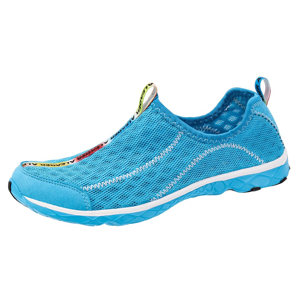 ALEADER Women's Mesh Slip On Water Shoes Blue 8.5 D(M) US by ALEADER (Image #2)