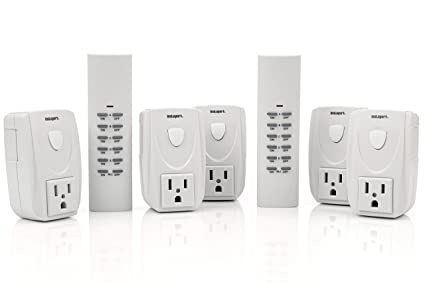 Wireless Remote Control Outlet Electrical Light Switch For Indoor