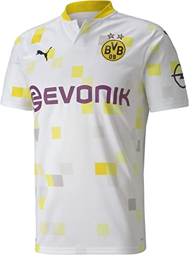 PUMA BVB Third Shirt Replica SS W/Evonik W/O Opel Camiseta Hombre