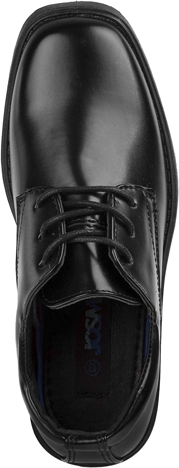 Josmo Boys Classic Oxford Casual Dress Shoe Toddler, Little Kid, Big Kid