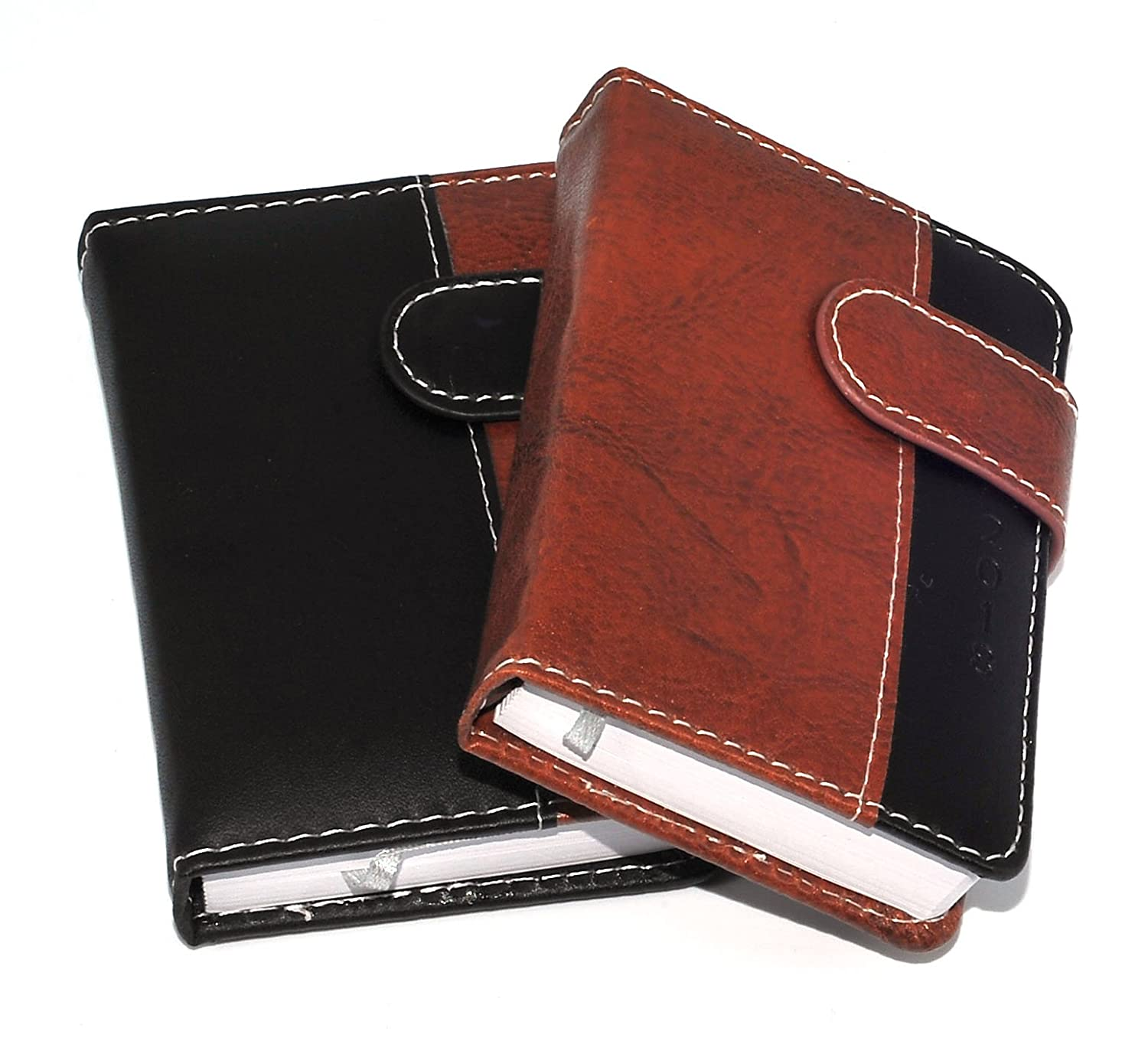 1x 2018 Pocket diary, Day a Page Leatherette Magnetic Clip