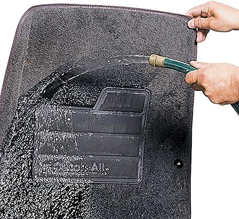 Set of 2 605430-LND Lund 605430 Catch-All Carpet Gray Front Floor Mat