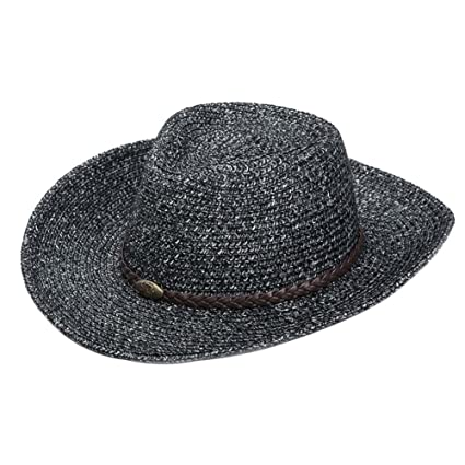 fd5cd0d8edd Image Unavailable. Image not available for. Color  PANDA SUPERSTORE Beach  Hat Large Brimmed Straw Hat Men Male ...