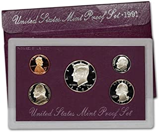 1991 S US Proof Set Superb Gem Uncirculated