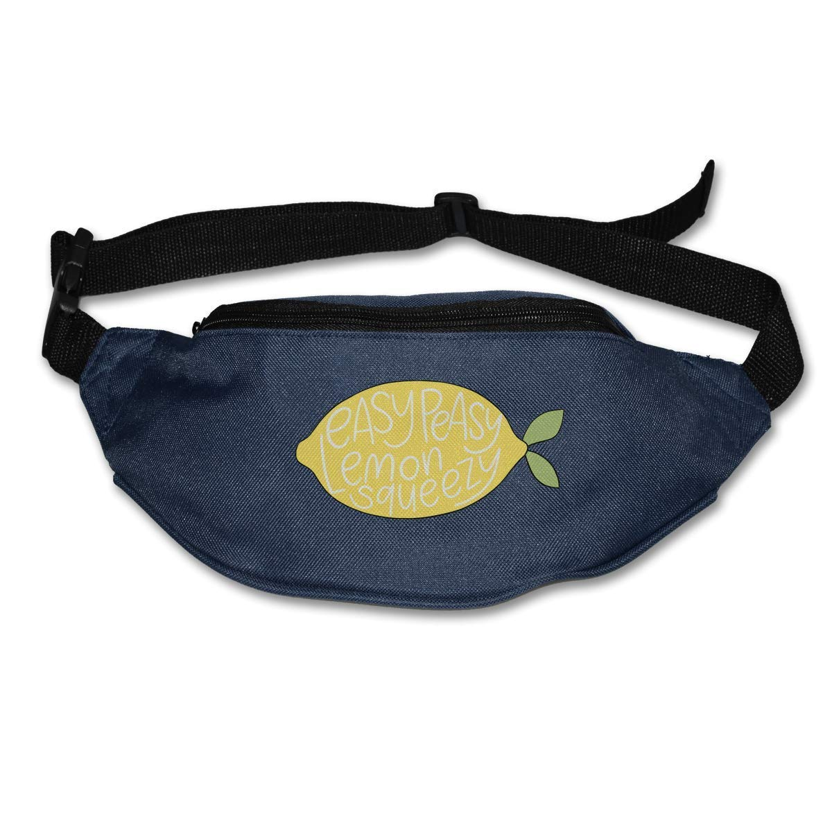 xjh558798 Easy Peasy Lemon Squeezy Running orts Waist Bag Zipper Pockets Water