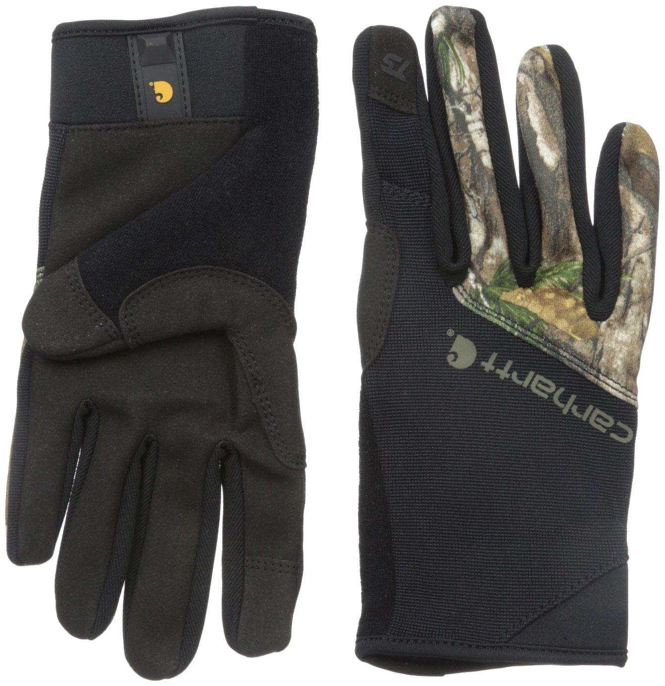 Carhartt Men's Work Flex Touch Glove-Xtra, Black/Extra, X-Large