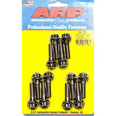 Chromoly Header Bolt Kits, Chevrolet Gen III/LS Series, 3/8˝ wide: Automotive