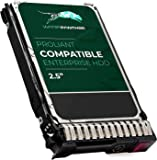 600GB 10K RPM SAS 2.5-Inch HDD for HP ProLiant Servers | Enterprise Hard Drive in G8 G9 Tray Compatible with 653957-001…
