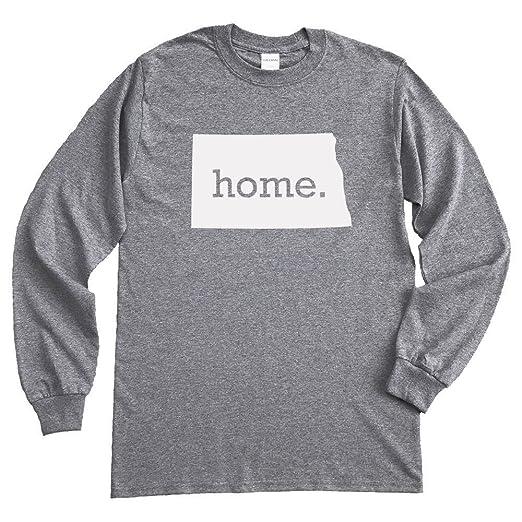 73d770624b Amazon.com  Homeland Tees North Dakota Home Long Sleeve T-Shirt ...