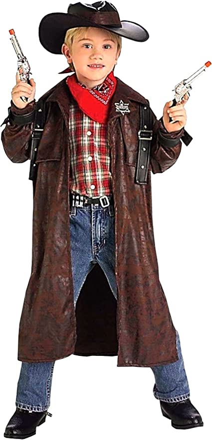 Amazon Com Forum Novelties Desperado Cowboy Child Costume Large Toys Games
