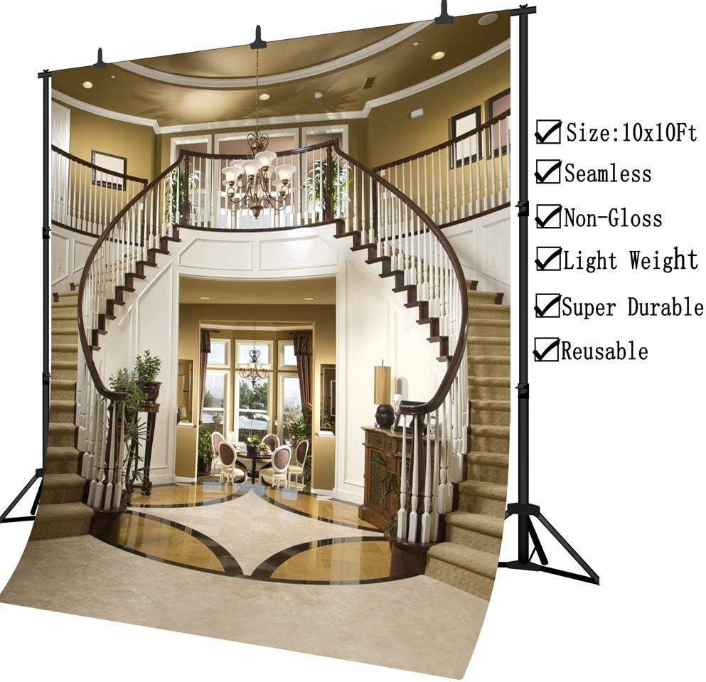 JoneAJ PGT004 telón de Fondo de Vinilo para fotografía de Doble Escalera sin Costuras, 10 x 10 pies: Amazon.es: Electrónica