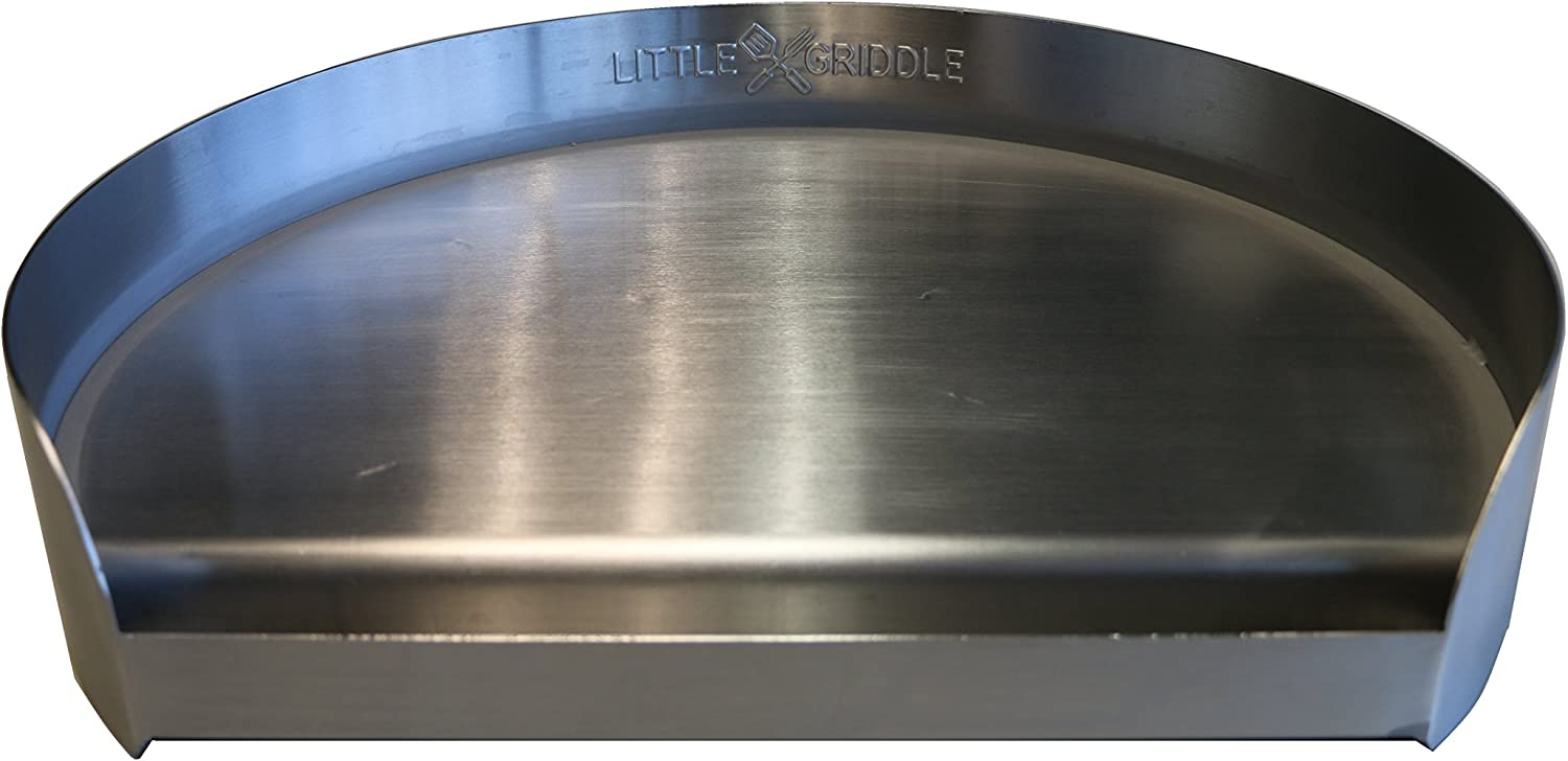 Little Griddle Kettle-Q Flat Top Grill for Round Grills