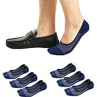 Ueither Calcetines Invisibles Cortos pare Hombres/Mujeres Respirable y Super Suaves Calcetines bajos de Algodón…