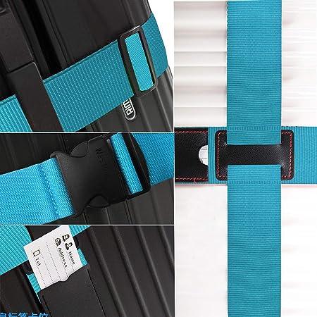 Koffergurt Gep/äckband Kofferriemen Kofferband Reise Urlaub Gurt Bunt Gep/äckgurt Kreuz