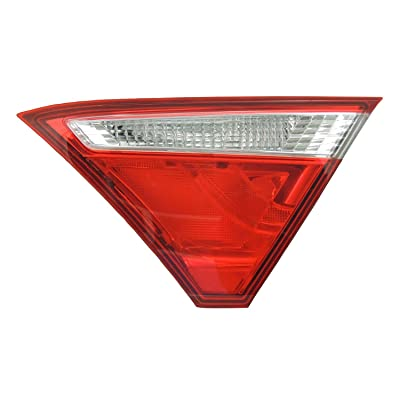 TYC 17-5535-00-1 Compatible with MITSUBISHI Eclipse Replacement Reflex Reflector: Automotive [5Bkhe1510741]