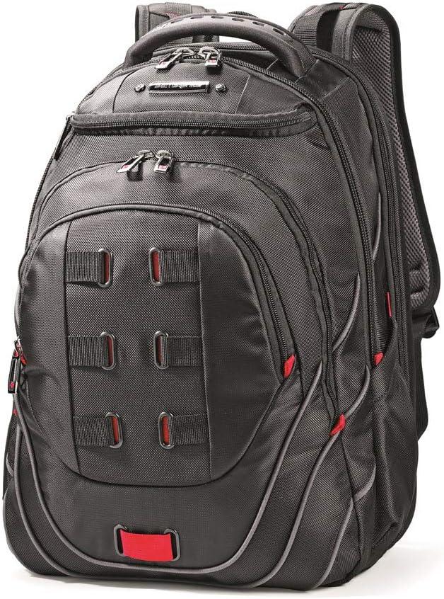 Samsonite Tectonic PFT Laptop Backpack, Black/Red, 17-Inch