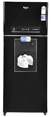 Whirlpool 450 L 2 Star Frost Free Double Door Refrigerator(PRO 465 ELT 3S MIRROR BLACK (I), Mirror Black)