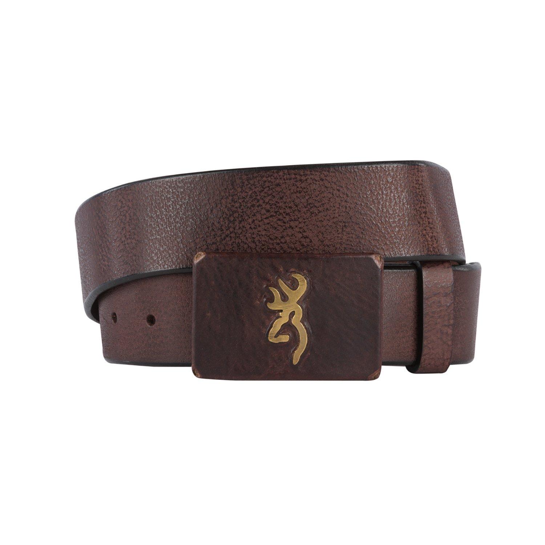 Browning Mens Brass Buck Belt