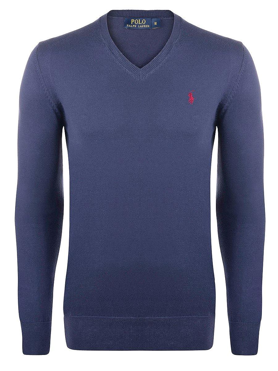 Ralph Lauren Jersey De Hombre (Azul marino / Roja Jinete, M ...