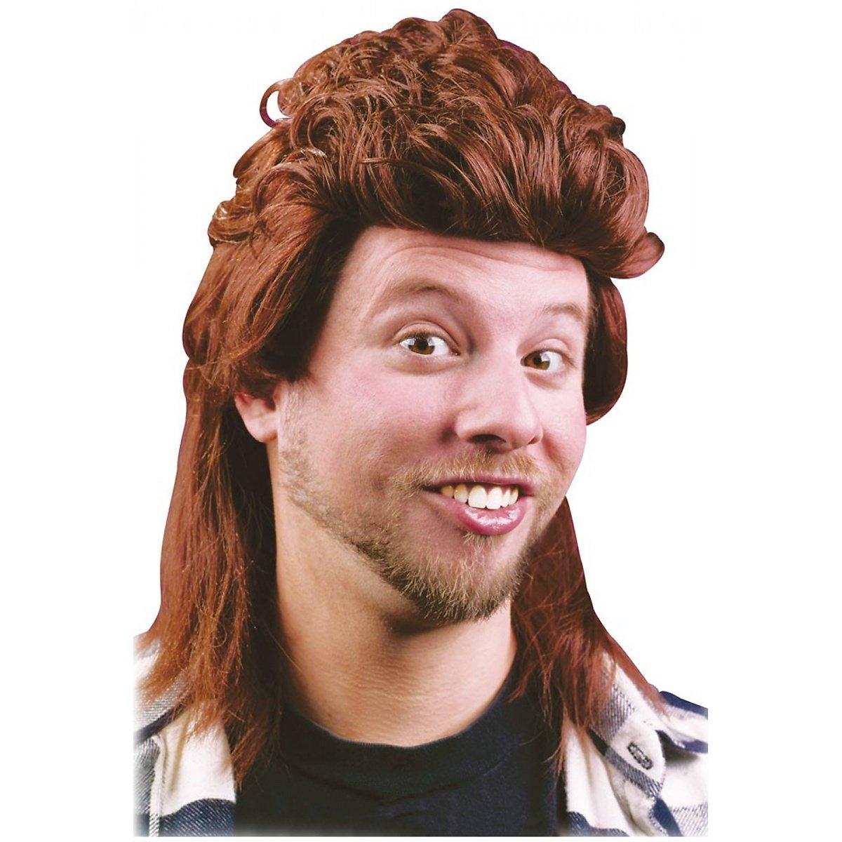Fun World Mullet Wig MOR-FWH92988BK