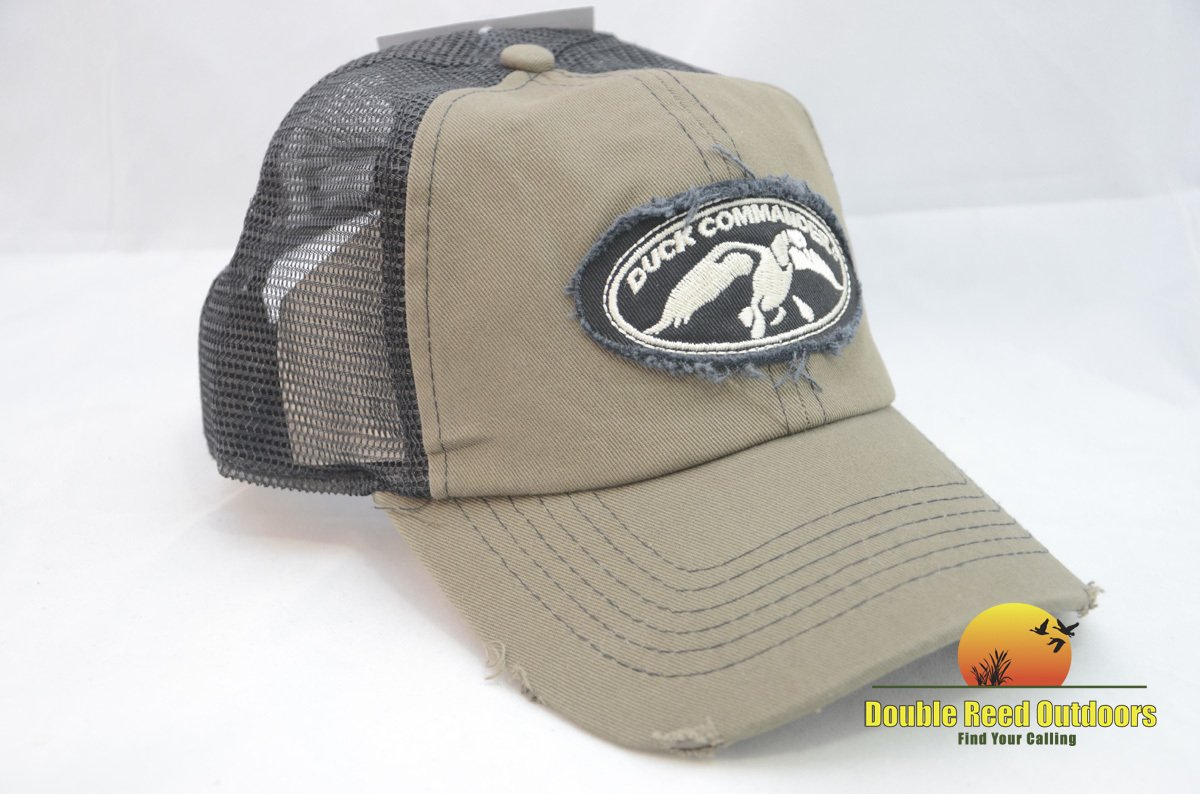 Mens Olive and Black Trucker Hat