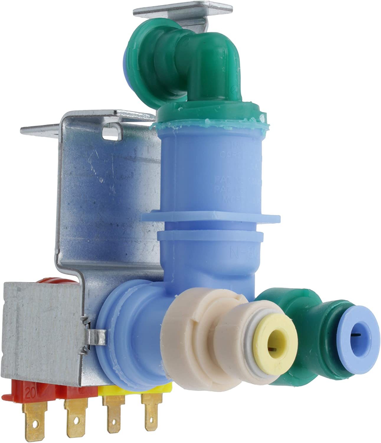Supplying Demand W10420083 Refrigerator Water Valve Dual Fits W10420083 & PS11754529