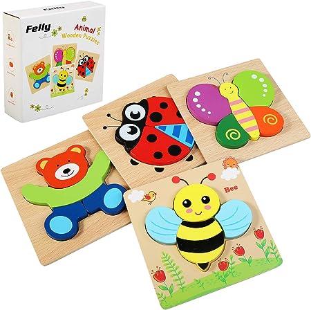【Diseño de Juguete Perfecto】Portátil y fácil de usar - El borde de la caja de madera es liso, sin pú