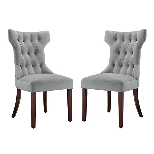 Dorel Living Clairborne Upholstered dining chair,'set of 2