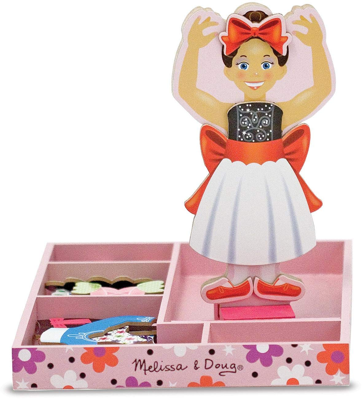 Melissa & Doug Magnetic Dress up - Nina Ballerina