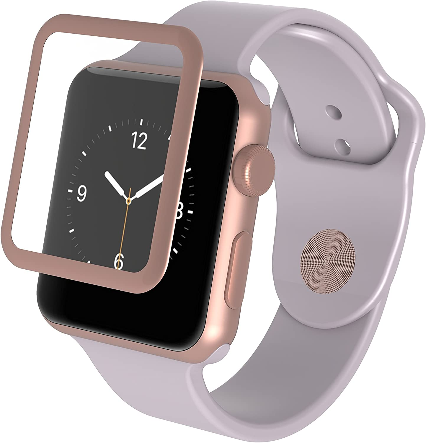 ZAGG InvisibleShield Luxe Screen Protector for Apple Watch Series 2 (38mm) - Rose Gold
