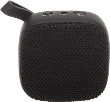 JVC Portable Wireless Speaker with Surround Sound, Bluetooth 10100.100, 100-Hour  Battery Life - SPSA10BTB (Black)