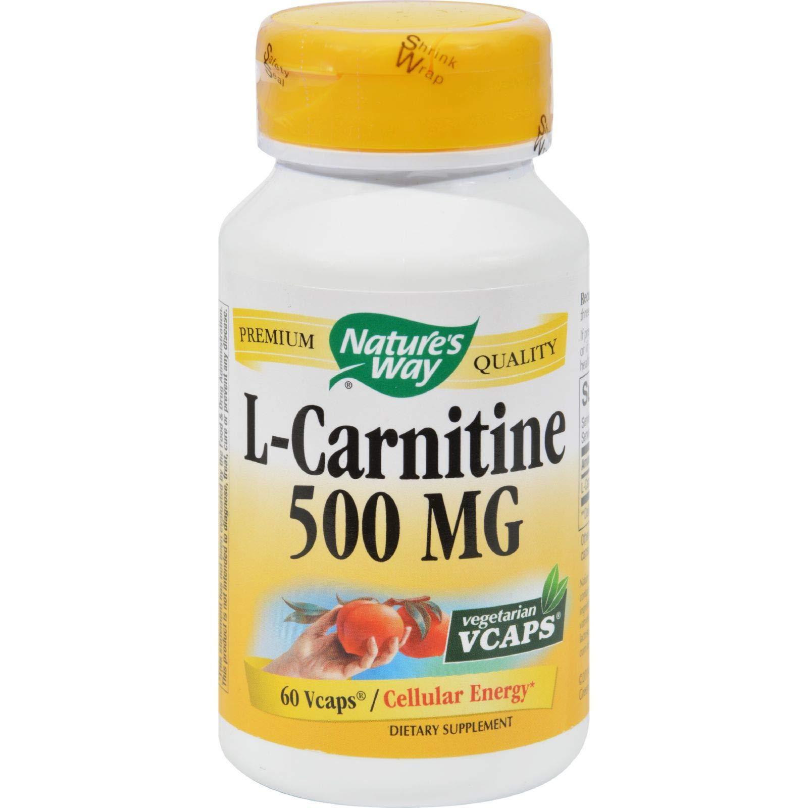 Natures Way L Carnitine Vegetarian Capsules