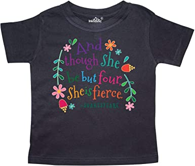 inktastic 4th Birthday Big 4 Year Old Toddler T-Shirt