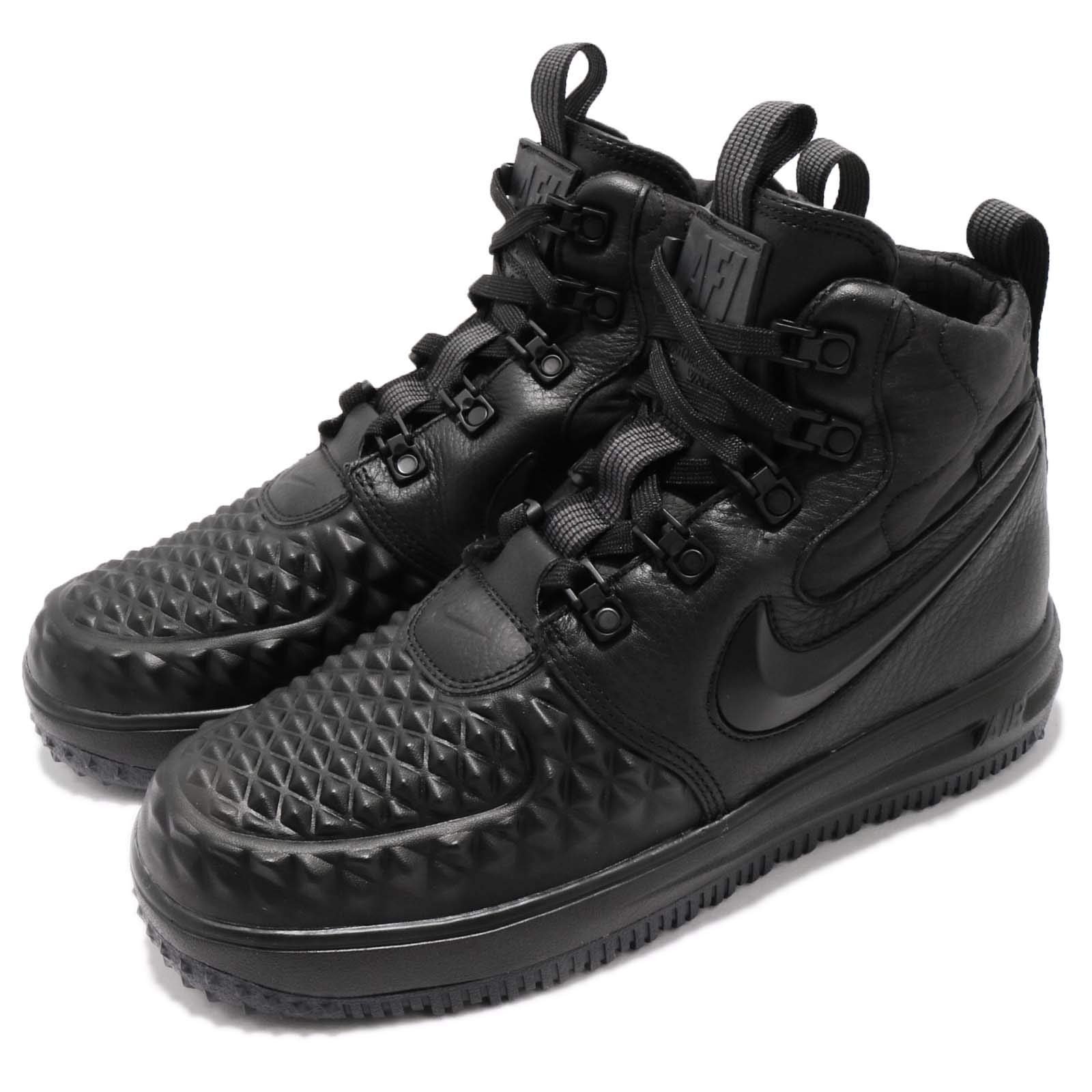 Nike Kid's LF1 Duckboot 17 GS, Black/Black-Anthracite, Youth Size 3.5 by Nike (Image #8)