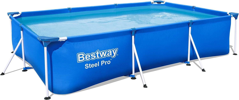 Bestway Infantil Bestway Deluxe Splash Frame Pool Piscina Desmontable Tubular, 300 x 201 x 66 cm: Amazon.es: Juguetes y juegos