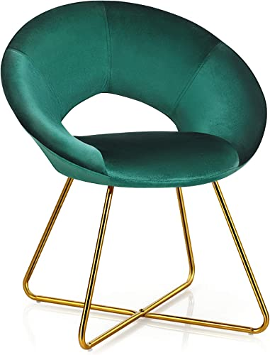 Giantex Modern Velvet Accent Chair