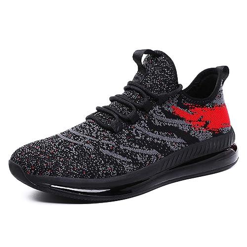 Men s Fashion Casual Air Cushion Sneakers Lightweight Athletic Tennis Walking Trail Running Shoe