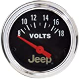 Auto Meter 880242 Jeep Electric Voltmeter Gauge