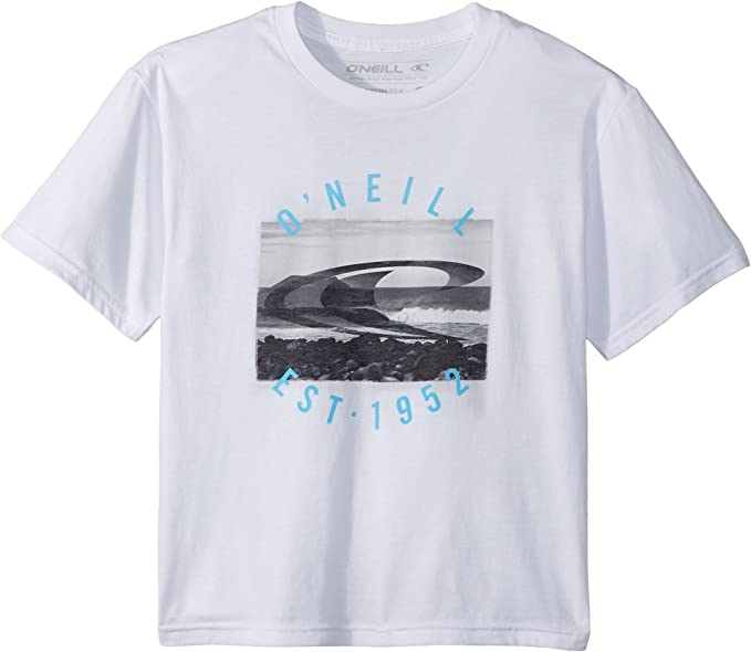 ONEILL Big Boys Galapagos Shirts,Small,White