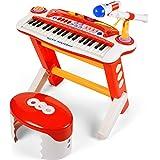 37 Keys Musical Toy Keyboard Instrument Electronic Organ for Kids