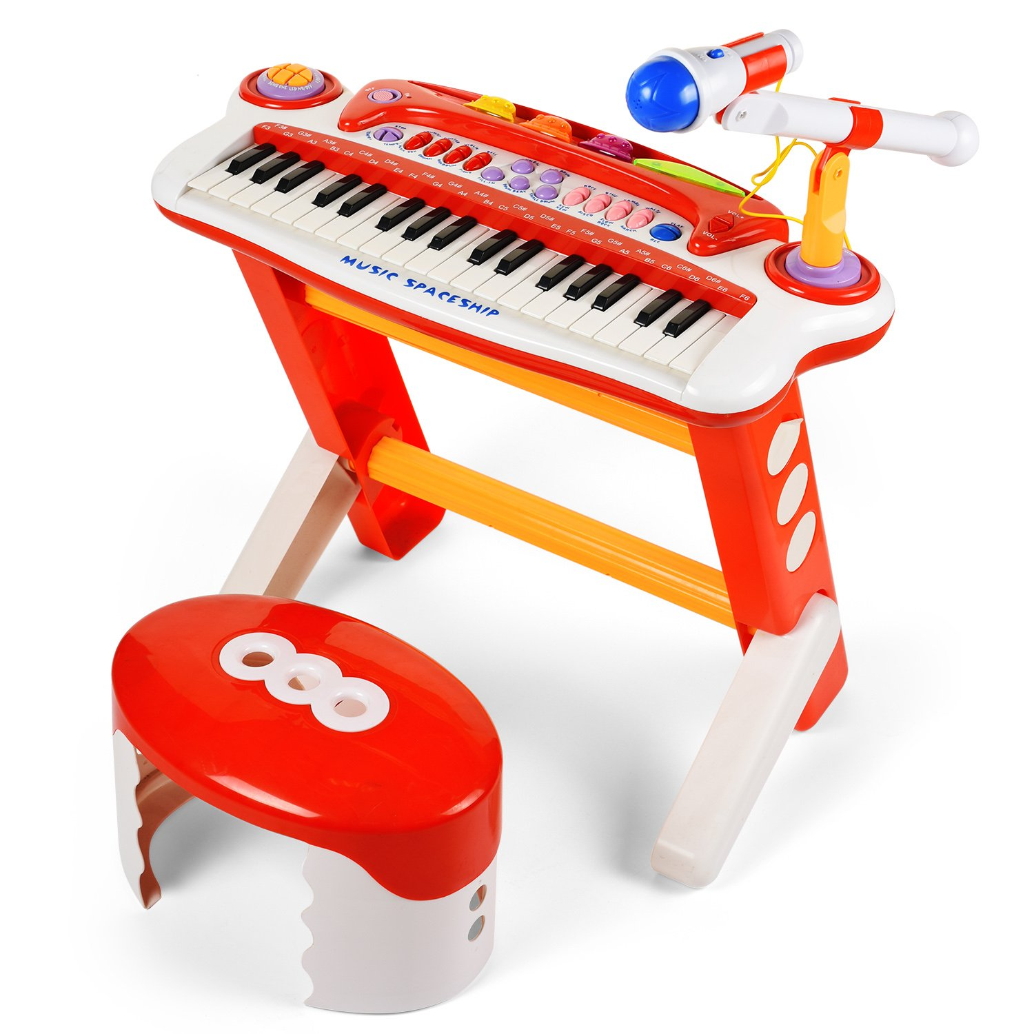37 Keys Musical Toy Keyboard Instrument Electronic Organ for Kids by BAOLI